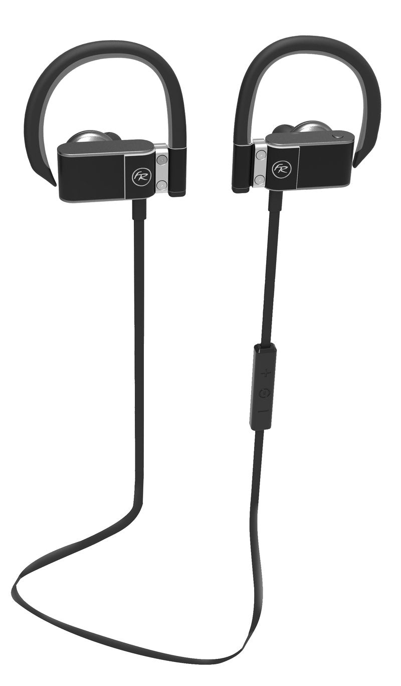 Floyd Rose Bluetooth Earbuds with In-Line Microphone - Black