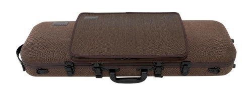 GEWA Violin Case Bio Oblong With Pocket - 4/4 Brown
