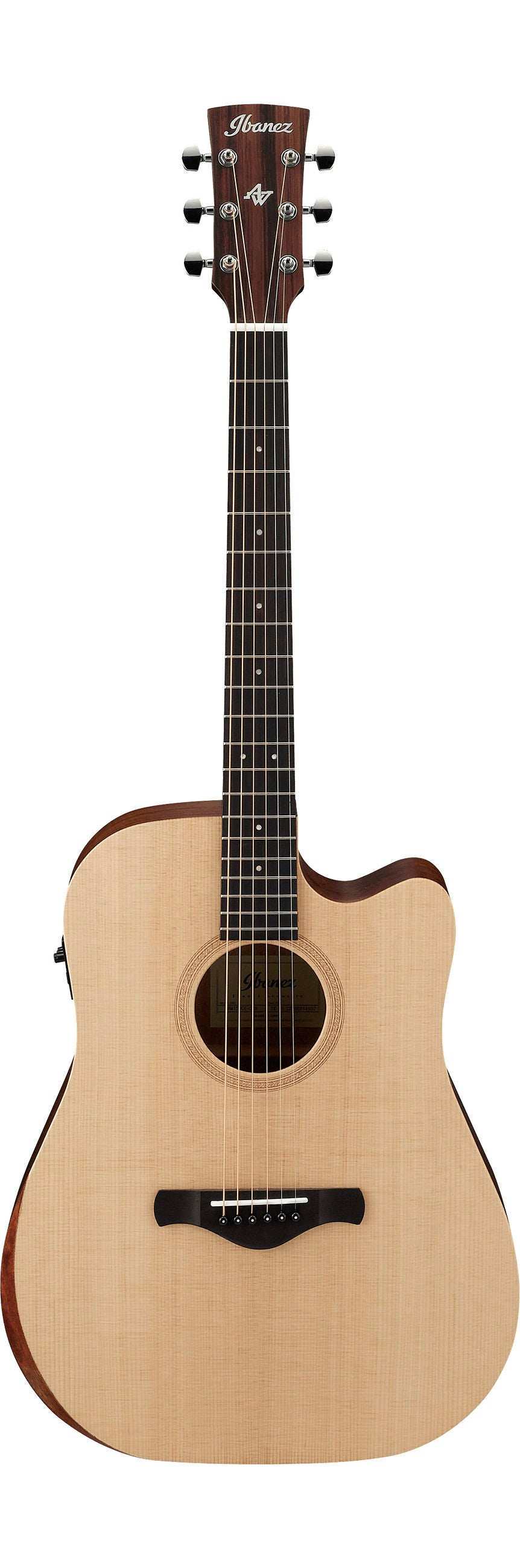 Ibanez AW150CE-OPN Artwood Solid Sitka Spruce top Open Pore - Natural