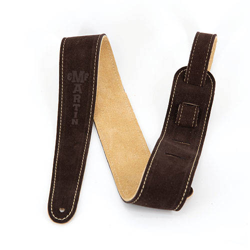 Martin Guitar Strap Suede - Brown