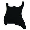 Black 3-ply (B/W/B) .090 - PG-0992 Pickguard Outline for Stratocaster