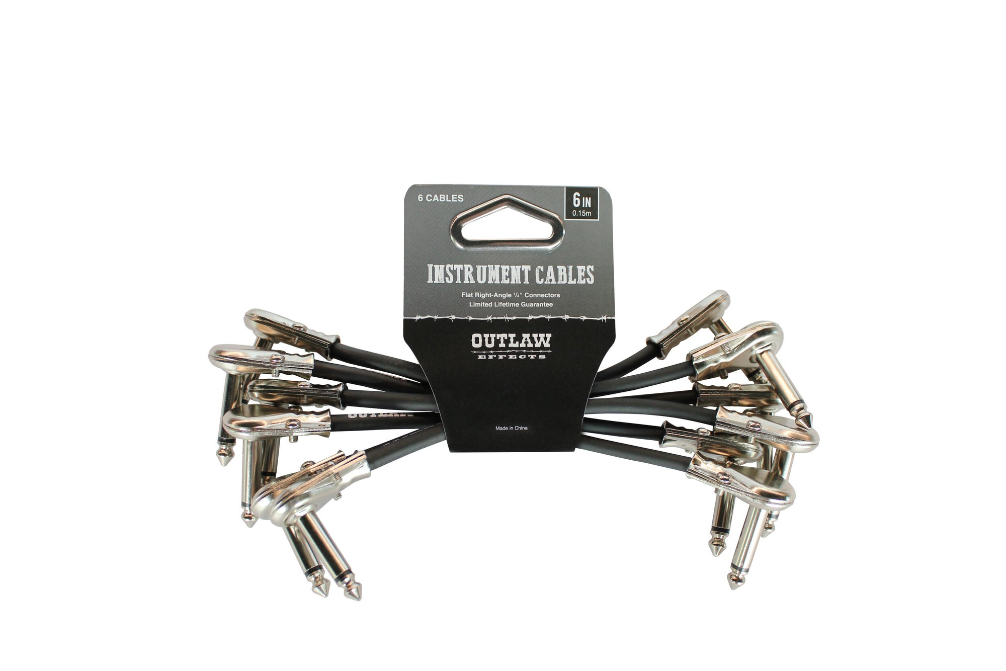 Outlaw 6'' Patch Cables - 6 Pack