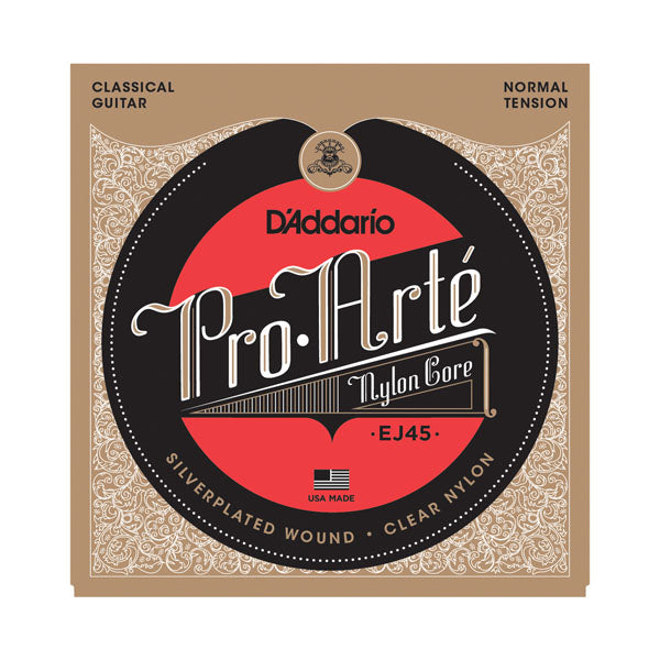 D'Addario EJ45 Pro-Art Nylon Normal Tension