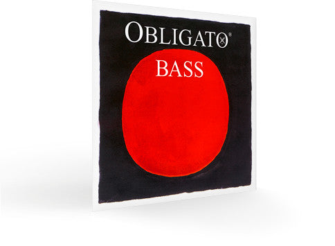 Pirastro Obligato Bass Strings - 3/4 Med