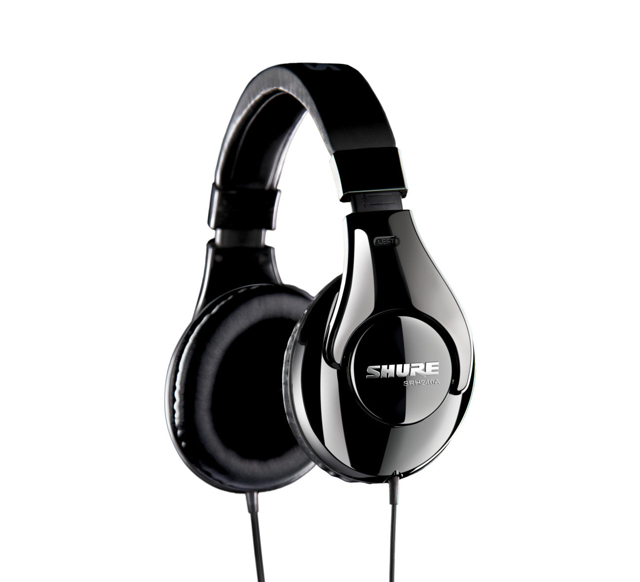 Shure SRH240A Professional Headphones with Attached Cable