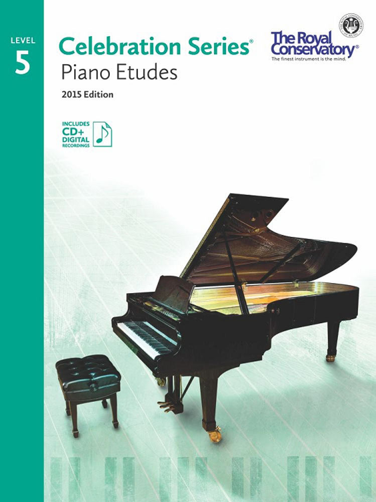 RCM Piano Etudes Level 5 Celebration Series 2015 ED
