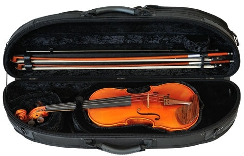 GEWA Violin Case Sport With Pocket - 4/4 Black & Blue