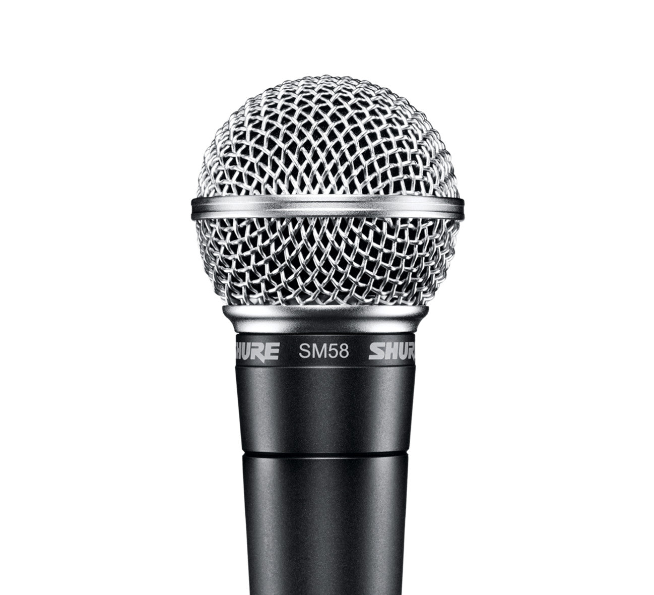 Shure SM58-LC Handheld Dynamic Microphone – Cardioid