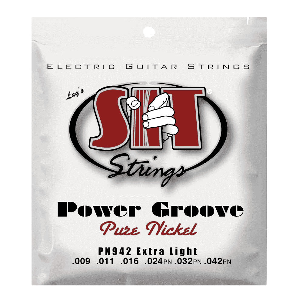 SIT Strings PN942 Power Grove Extra Light Pure Nickel Electric