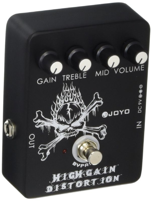 Joyo JF-04 High Gain Distortion - FX Pedal with Mid EQ