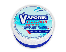 Load image into Gallery viewer, Vaporin Cold Rub 10mL