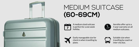 Medium Sized Suitcases