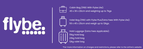 Flybe Approved Cabin Baggage