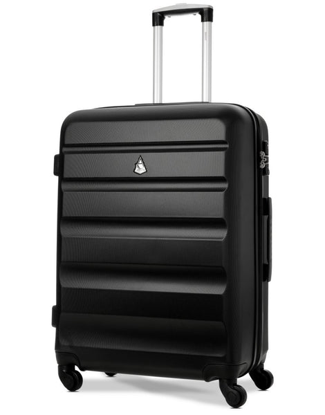 Aerolite Hard Shell Suitcase Luggage Travel Set with TSA Padlock (Medium + Large Hold Luggage Suitcase)
