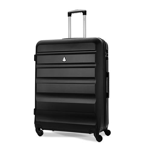 Aerolite (79x58x31cm) Large Hard Shell Luggage Suitcase with TSA Padlock