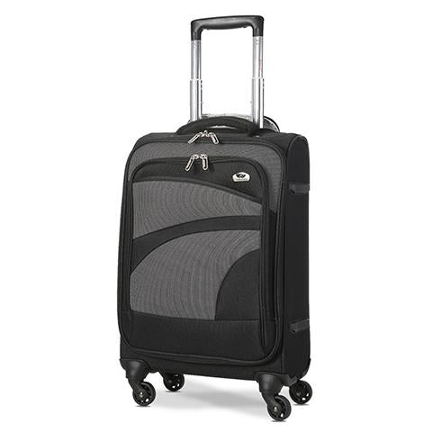 Aerolite (47x35x20cm) Lightweight Soft Shell Cabin Hand Luggage | 4 Wheels