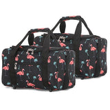 5 Cities (40x20x25cm) Hand Luggage Holdall Flight Bag (x2 Set)