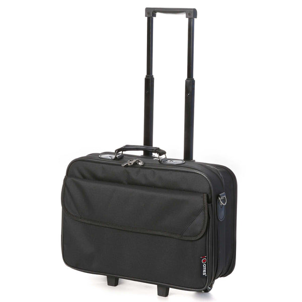 5 Cities (43x36x20cm) Laptop Roller Case Briefcase