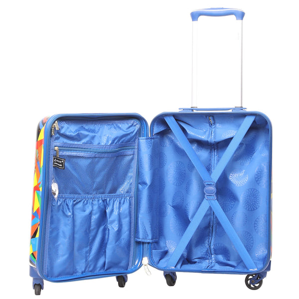 Aerolite (55x35x20cm) Lightweight Polycarbonate Hard Shell Cabin Hand Luggage Suitcase