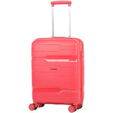 Aerolite (55x40x20cm) Premium Hard Shell Cabin Hand Luggage with Built In TSA Combination Lock
