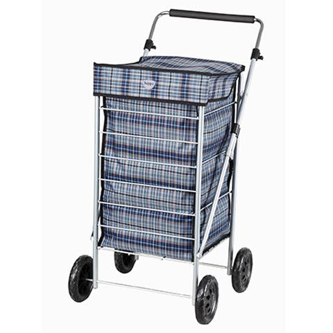Hoppa (100x33x33) Lightweight Shopping Wheeled Trolley