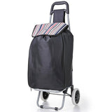 Hoppa 51L (60x34x25) Expanding Lightweight Shopping Wheeled Trolley