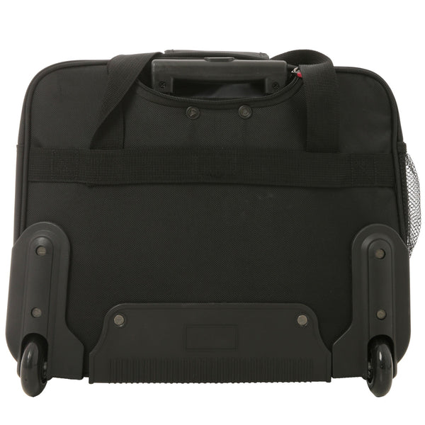 Aerolite (45x35x20cm) Executive Mobile Business Cabin Hand with Luggage Rolling Laptop Bag