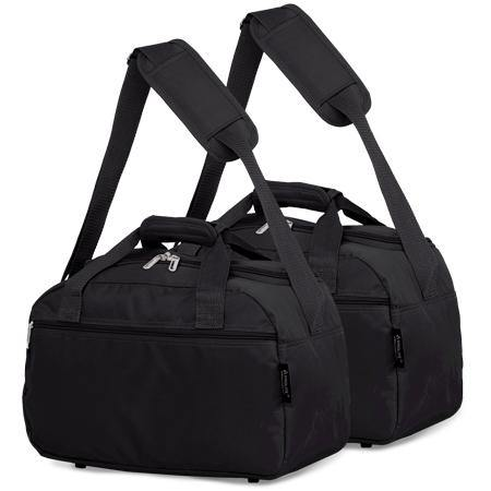 Aerolite (40x20x25cm) Hand Luggage Holdall Bag (x2 Set)