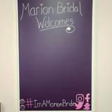 Marion Bridal Southern Illinois Welcome Sign