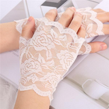 32802 - Lace Fingerless Gloves