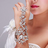 32803 - Crystal Rhinestone Gloves