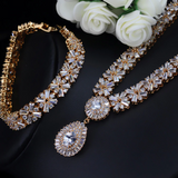 40201 - Brilliant CZ Jewelry Set