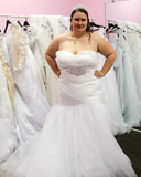 Charlie - Plus Size Mermaid Gown - Marion Bridal