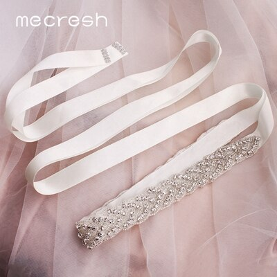 11302 - Rhinestone Wedding Sash