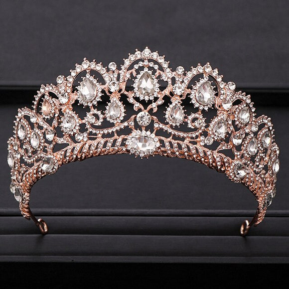 50102 - Rounded Top Princess Style Tiara