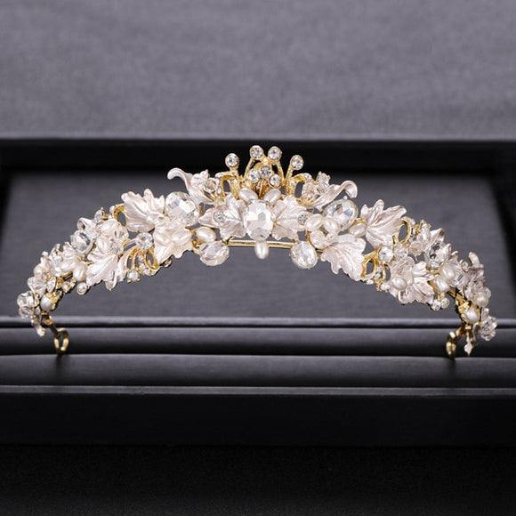 50103 - Floral Head Band Tiara