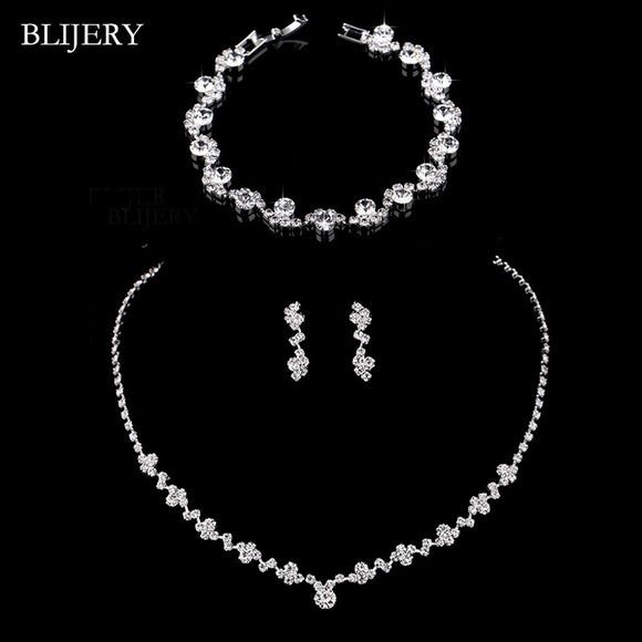 40203 - Simple Geometric Pattern Jewelry Set - Multiple Bracelet Options