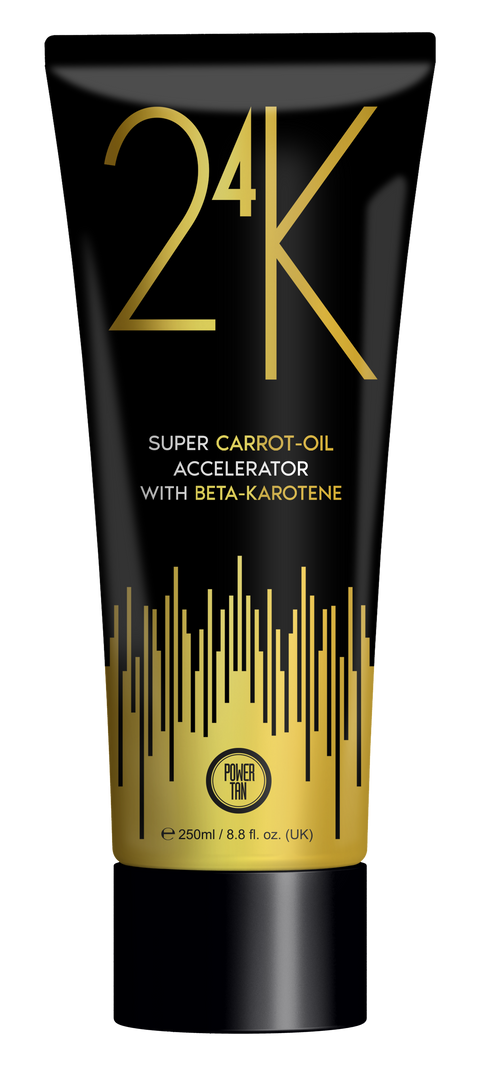 Power Tan 24K Super Carrot Oil