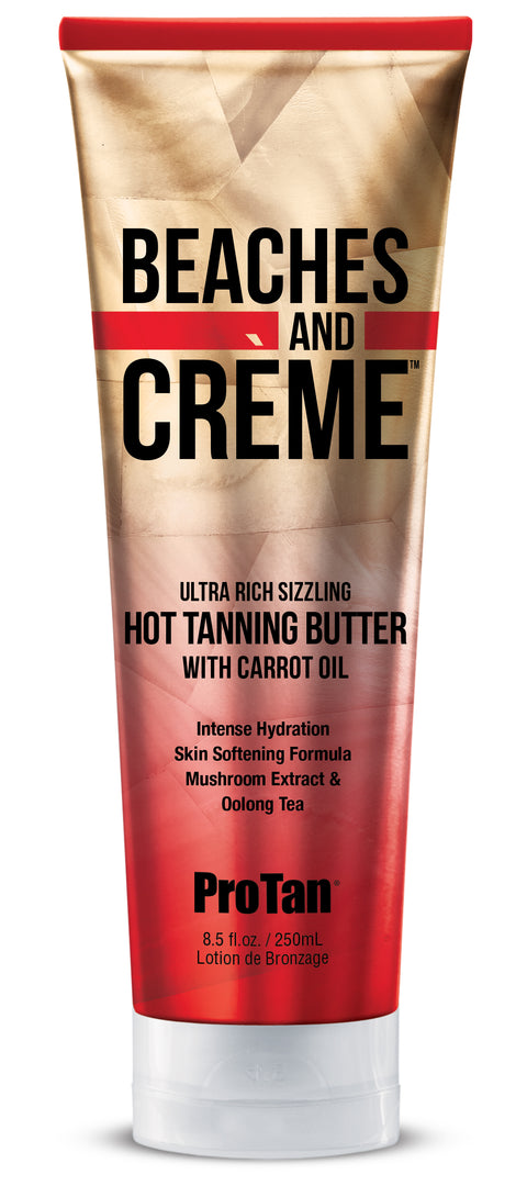Pro Tan Beaches & Cremé Gelee Sizzling Hot Tanning Butter