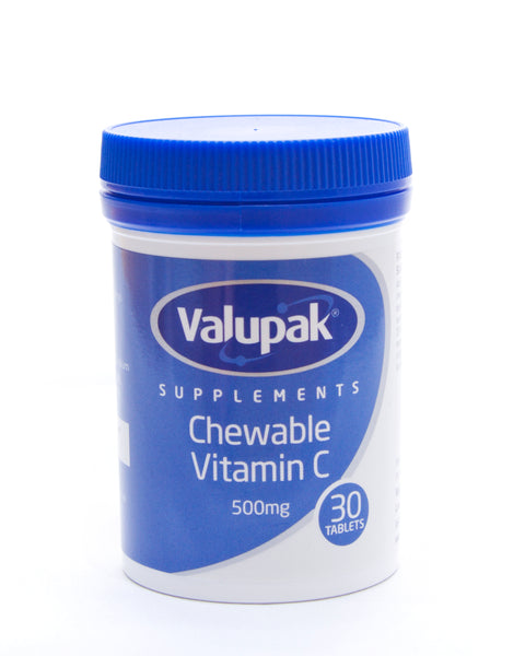 Valupak Vitamins Chewable Vitamin C