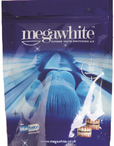 MegaWhite Sunbed Teeth Whitening