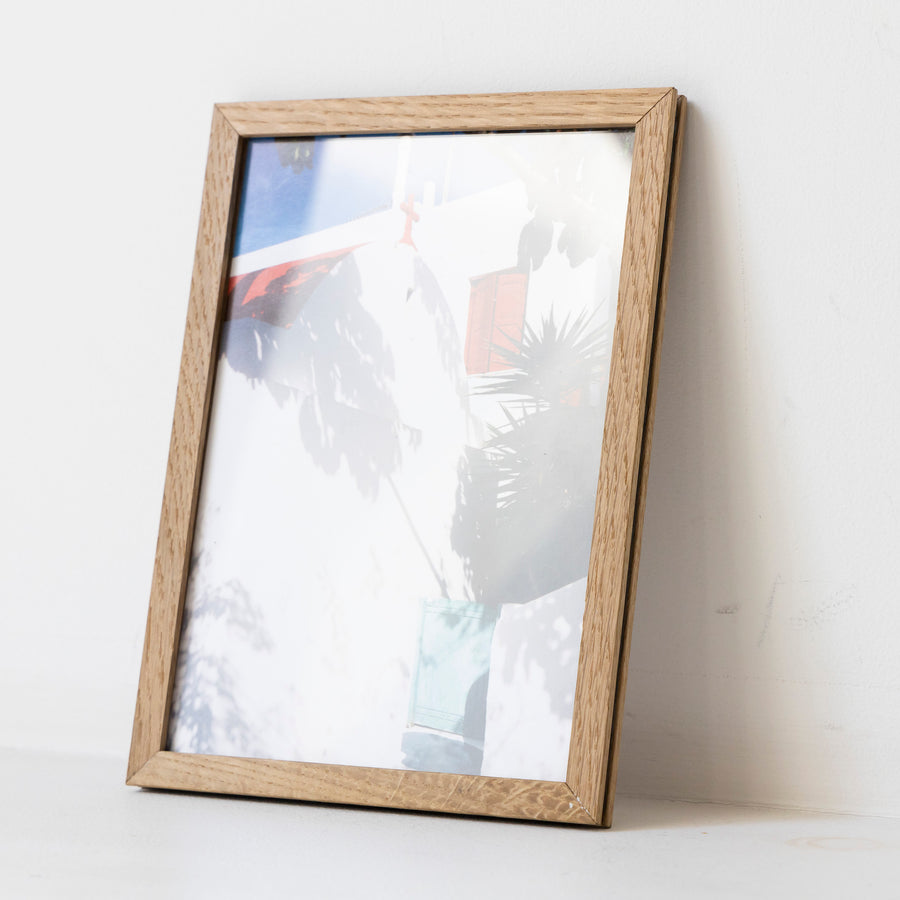 Light and shade / A5 oak frame