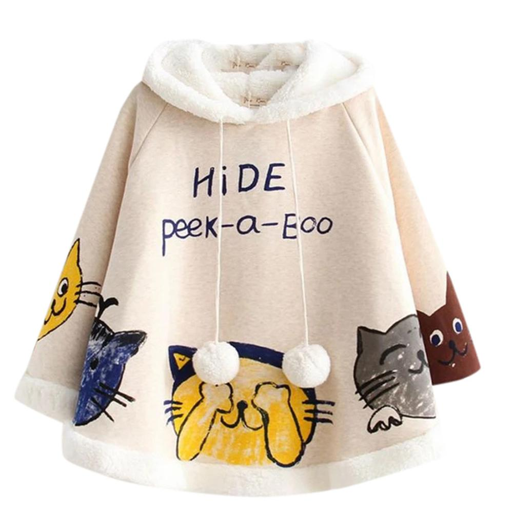 Peek-a-Boo Winter Cloak