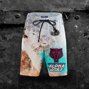 Alpha Wolf - V1 Beach Shorts S Short