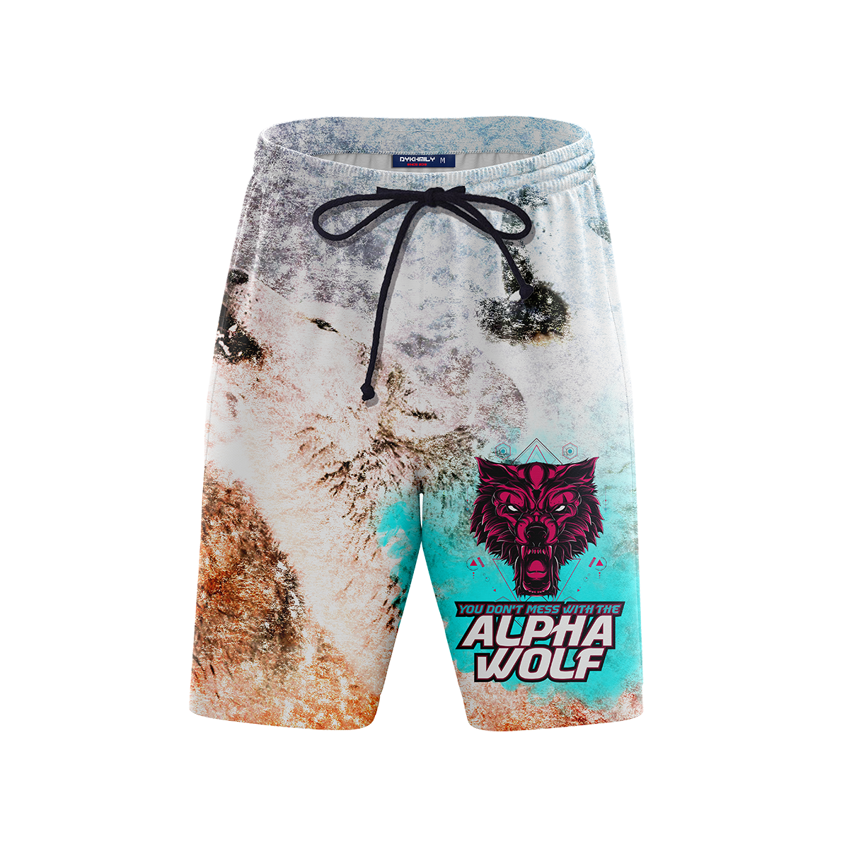 Alpha Wolf - V1 Beach Shorts Short