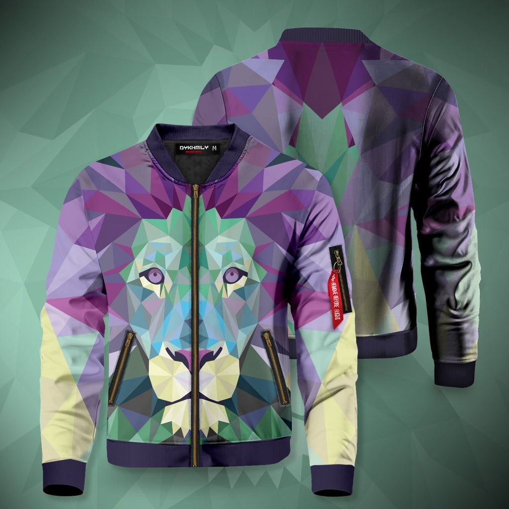 Diamond Lion Bomber Jacket S