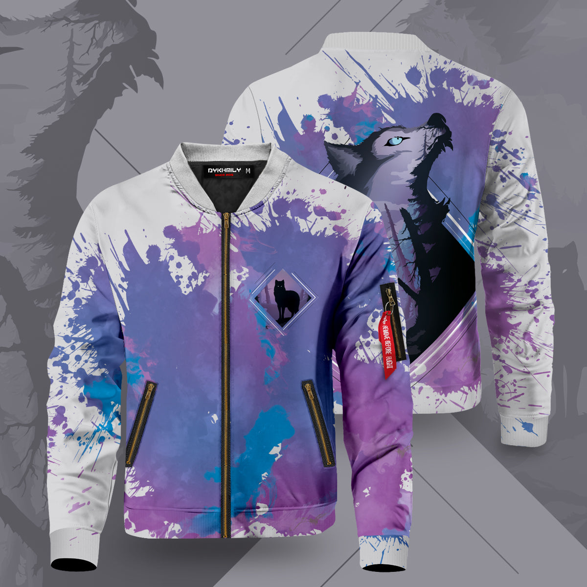 Into the Woods Bomber Jacket