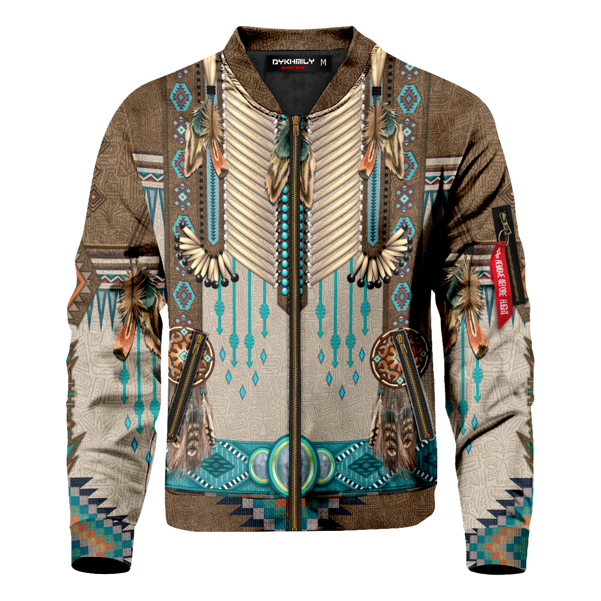 Native Fringe Bomber Jacket