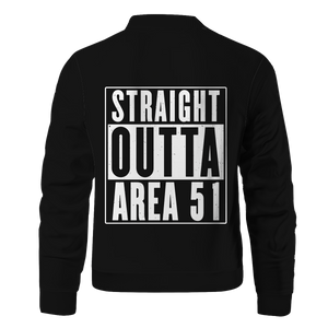 Straight Outta Area 51 Bomber Jacket