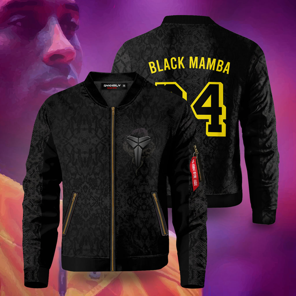 Black Mamba Bomber Jacket